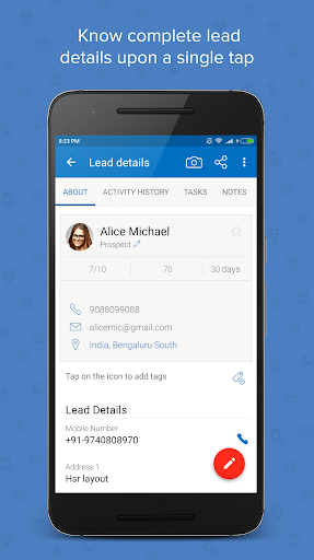 ls – mobile sales crm & lead management system screenshot 3