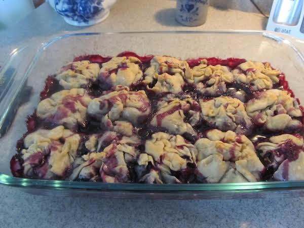 Jamie's Great Aunts Blueberry Dumplings Recipe