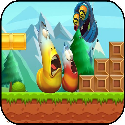 super larva skateborad adventure & jungle (game)