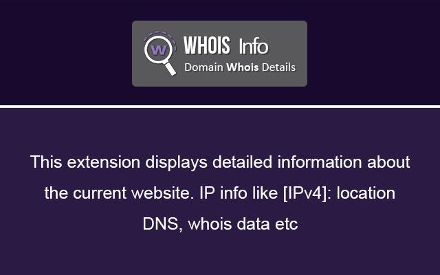 Whois Info