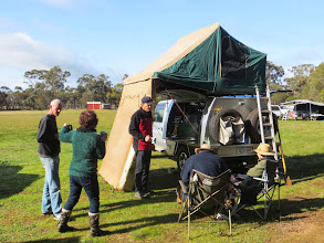 Photo: Redback'n Spider's camp
