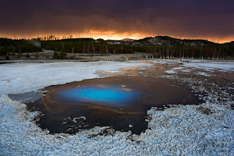 Photo: Pearl Spring, Yellowstone National Park, Wyoming (WY), USA