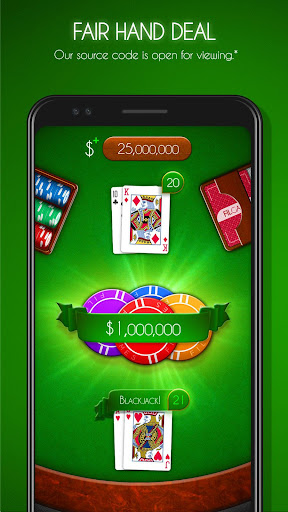 Blackjack! u2660ufe0f Free Black Jack Casino Card Game 1.7.0 screenshots 20
