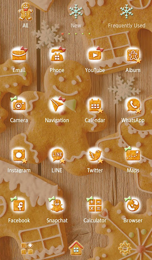 Gingerbread Man Wallpaper-free 1.0.0 Windows u7528 3