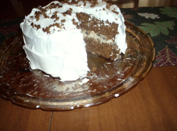 Raisin Filled Gingerbread Cake Recipe