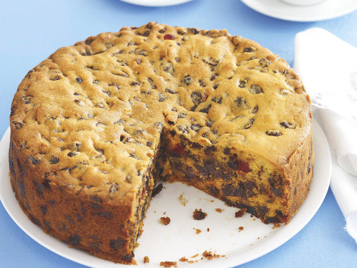 Pumpkin Fruit Cake Recipe