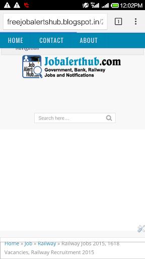 Free Job Alert India