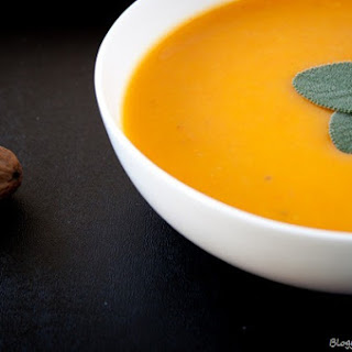 Butternut Squash and Carrot Soup.