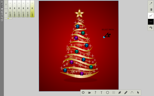 Foto do Pen Tool SVG