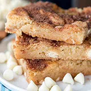 Snickerdoodle Gooey Bars