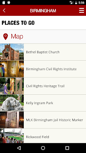 Alabama Civil Rights Trail- screenshot thumbnail