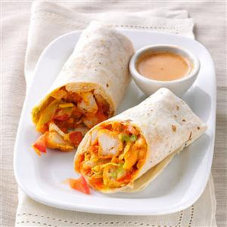 Crispy Buffalo Chicken Wraps Recipe