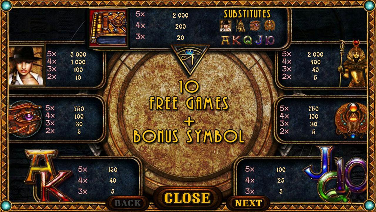 Screenshots of Golden Ark - slot for iPhone