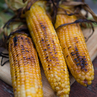 BBQ Spicy Chipotle Corn on the Cob.