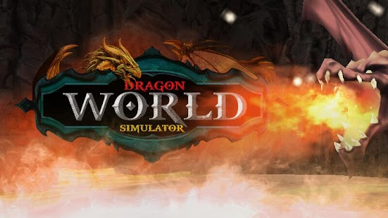 Dragon World Simulator screenshot