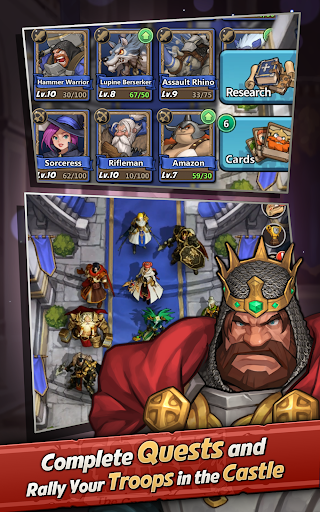 Castle Burn - RTS Revolution screenshot 13