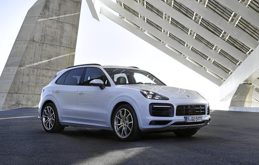The E-Hybrid will be added to the new Cayenne line-up in SA later in 2018. Picture: PORSCHE