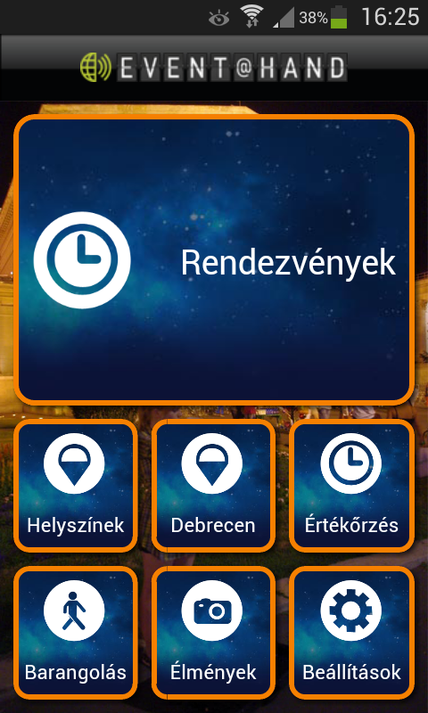 MUZEJ EVENT@HAND- screenshot