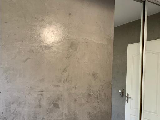 murs en béton ciré