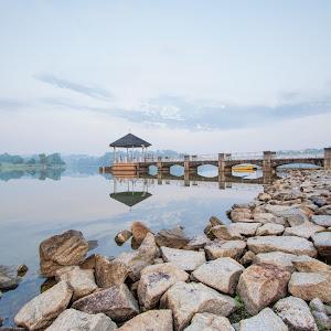 Morning at Lower Peirce Reservoir.JPG