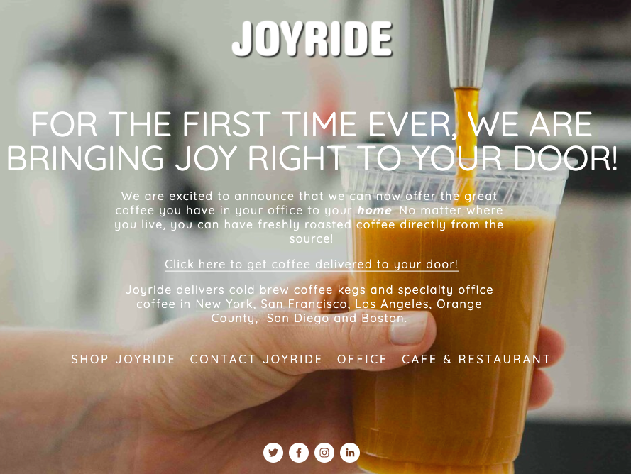 joyride covid-19