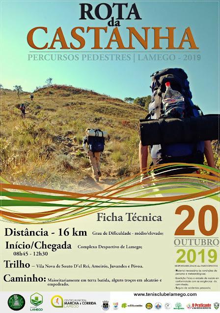 Programa – Rota da Castanha – Lamego – 20 de outubro de 2019