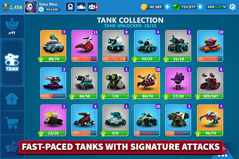 Tank Raid Online - 3v3 Battles Screenshot