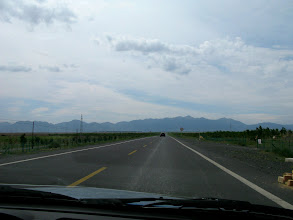 Photo: Back in Urumqi, Namka took us to visit another Chinese minority, the Kazakhs.