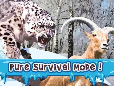 snow leopard simulator apk android