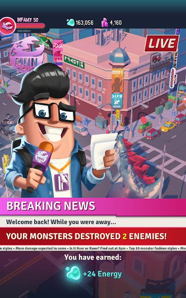 I Am Monster: Idle Destruction Screenshot Image