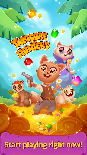 Treasure hunters match-3 gems  {cheat|hack|gameplay|apk mod|resources generator} 5