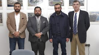 Mostafa Yilmaz, José María Arrabal, Mohamed El Assy y Antonio Hernández Granados.