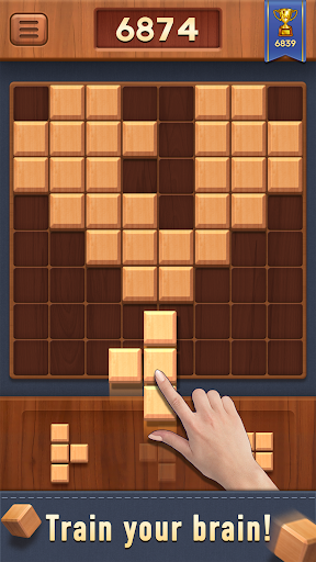 Block of Wood - Classic Puzzle Game apkpoly screenshots 5
