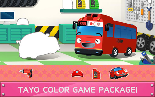 Tayo Color Game