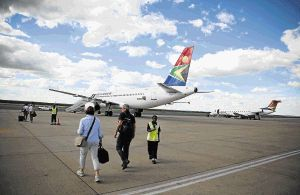 Taking a different route: The state has long maintained a policy that it would be the sole shareholder in SAA. With the carrier in a crisis, it is mooting a change in the policy as part of a turnaround plan. Picture: SUPPLIED