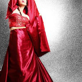 red winter II by Lucian Petrea - People Fashion