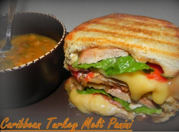 Caribbean Turkey Melt Panini Recipe