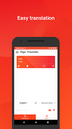 Oiga translate -  picture and voice translator APK screenshot thumbnail 1