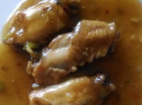 Asian Coke Chicken Wings.