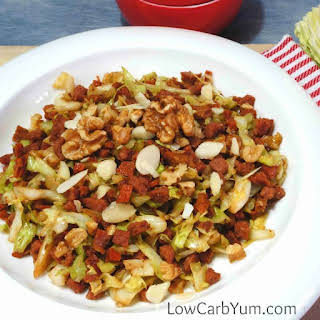 Nutty Egg Roll in a Bowl.