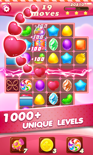 Candy Sweet Star & Match 3 Puzzle for PC