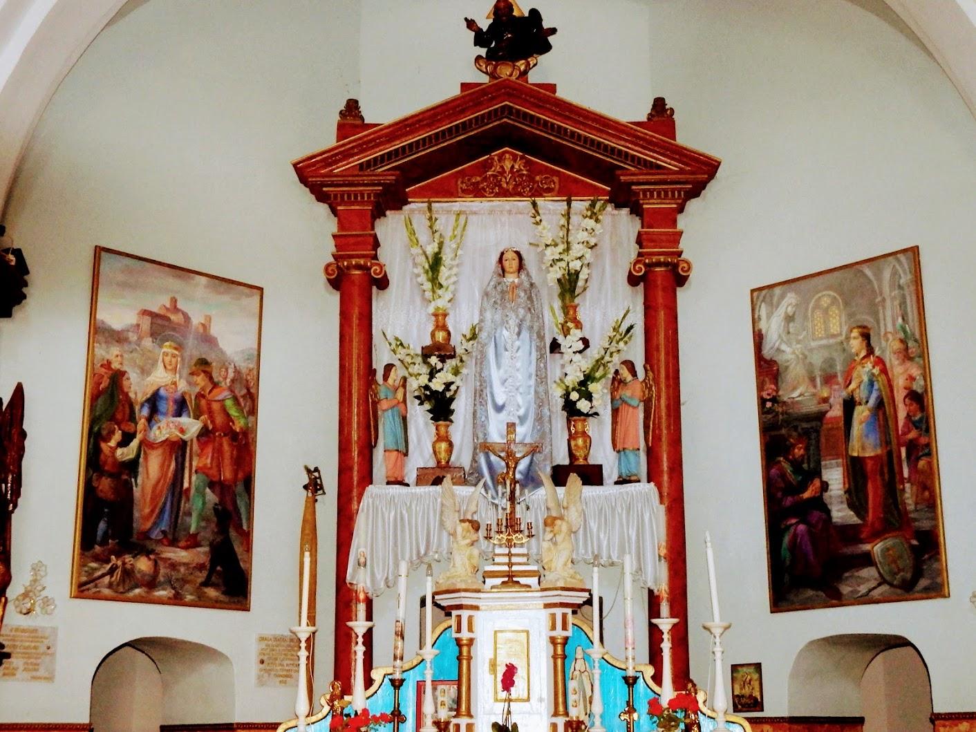Csatka - Boldog Szűz Mária-kápolna, keresztút és Szentkút