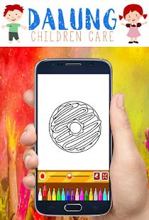 Buku Mewarnai Donat Mudah Aplikasi Di Google Play