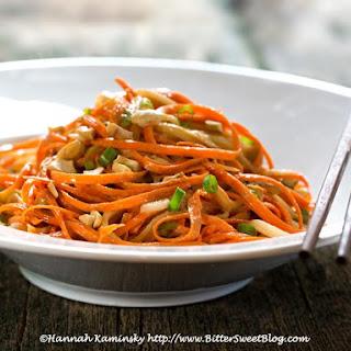 Carrot Cashew Noodles
