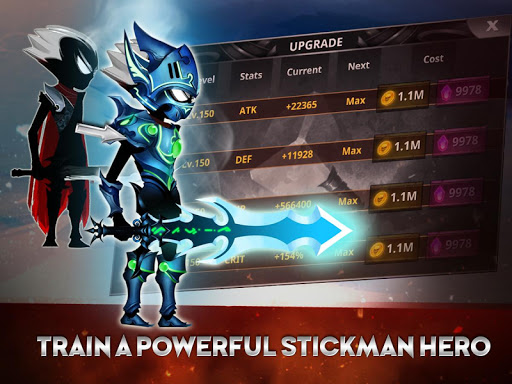 Stickman Legends: Shadow Wars Pro poster