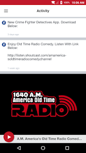 A.M. America's Old Time Radio- screenshot thumbnail