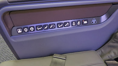 Photo: Business class seat controls Singapore Air's new B777-300ER