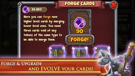 Deck Warlords - TCG card game screenshot