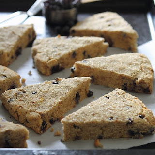 Wild Blueberry Orange Scones