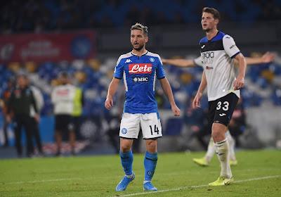 Dries Mertens en zijn ploegmaats zijn gestraft door de voorzitter van Napoli
